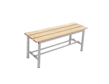 Panche Per Spogliatoio Ikea.Panche Spogliatoio Con Doghe In Legno E Struttura In Acciaio Montate